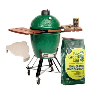 Keramický gril Big Green Egg LARGE - nejpopulárnější velikost zeleného vejce
