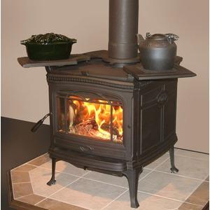 PACIFIC ENERGY Litinová kanadská kamna ALDERLEA T5 černá