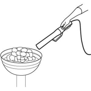 Elektrický podpalovač LOOFTLIGHTER - zapalovač pro snadné a rychlé podpálení paliva grilu, kamen nebo krbu