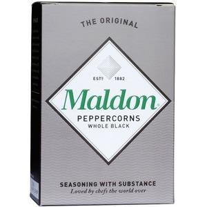 Černý pepř Maldon Black Peppercorns 2x20 g
