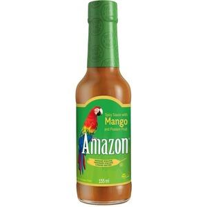 Amazon Sladko-pálivá mangová omáčka 155ml - 10885 - mírně pálivá omáčka se sladkým akcentem manga