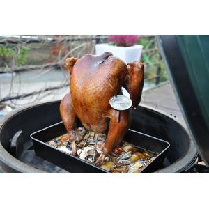 Kovový stojan na kuře BGE