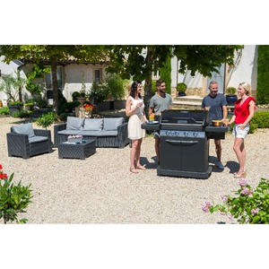 Plynový gril Campingaz Master 4 Series LXS SBS Black Edition