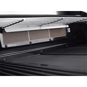 Vestavný plynový gril GrandHall MAXIM G4 - detail zadního infračerveného hořáku