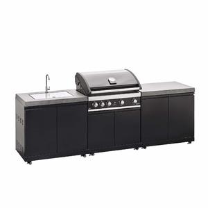 Venkovní kuchyně pro vestavný gril Grandhall Maxim G4 a Elite G4 - komfortní grilovací centrum