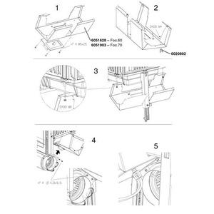 Krbová vložka Nordica FOCOLARE PIANO 60 EVO CRYSTAL přímá - montáž přídavného ventilátoru