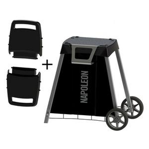Cestovní přenosný elektrický gril Napoleon TRAVEL PRO285E-BK-CE - příplatkový vozík