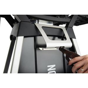 Pevný vozík s 2 policemi pro gril PRO285 - příplatkové příslušenství - detail zásobníku na koření s integrovaným otvírákem lahví