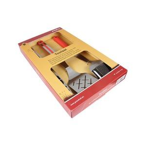 Sada grilovacího náčiní GRANDHALL (3-dílná) - elegantní a kvalitní set grilovacího nářadí