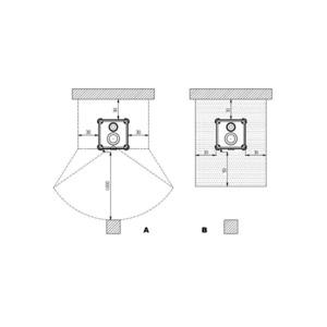 Krbová kamna Nordica DORELLA L8 - zastavovací rozměry