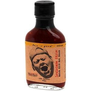 Grilovací chilli omáčka Pain is Good Louisiana Style (95ml) - tmavá silná omáčka s nádechem kouře ideální pro vepřové a drůbeží maso