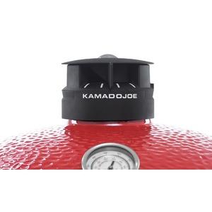 Keramický gril Kamado Joe BIG JOE III - celohliníkové víčko pro regulaci vzduchu