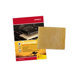 Čistící polštářky GrandHall na grilovací rošt (3 ks)