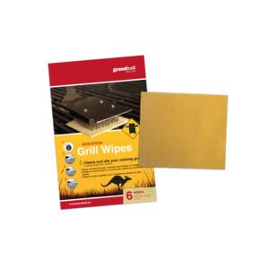 Čistící a impregnační ubrousky GrandHall na grilovací rošt (6 ks)