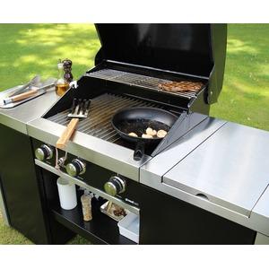 Plynový gril GrandHall PREMIUM G3 ISLAND - elegantní gril pro rodinné grilování