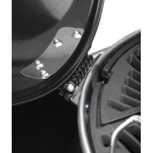 Gril na dřevěné uhlí Napoleon PRO CART CHARCOAL PRO22K-CART-2 detail kloubu víka
