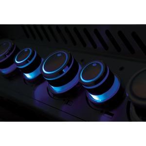 Plynový gril Napoleon PRESTIGE PRO825RSIBPSS - ovládací panel s podsvícenými knoflíky Night Light