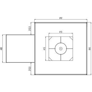 VULCANUS Grill Pro910 Masterchef - unikátní gril na vysokém a prodlouženém podstavci
