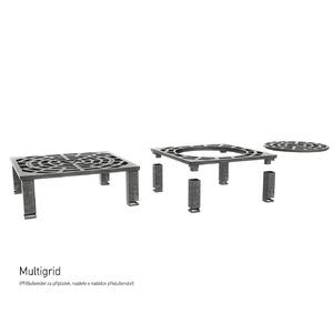 Vulcanus Multigrid Pro730 - litinový rošt pro grily VULCANUS s grilovací plochou 910x910 mm