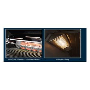 Plynový gril Napoleon PRESTIGE PRO665RSIBPSS - luxusní plynový gril s mimořádnou výbavou