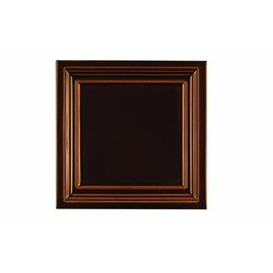 Kachlový sporák K3 - detail kachle Rámeček v barvě hnědá burelová