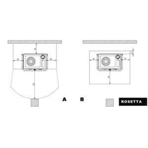 Nordica ROSETTA - zastavovací rozměry