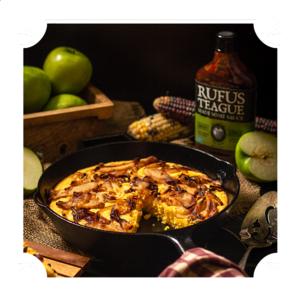 Grilovací omáčka Rufus Teague Smoky Apple (454g) - lahodná zauzená chuť sladkokyselého jablka