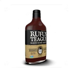 Grilovací omáčka Rufus Teague Whiskey Maple BBQ omáčka (454g) - sladší omáčka s kapkou alkoholu
