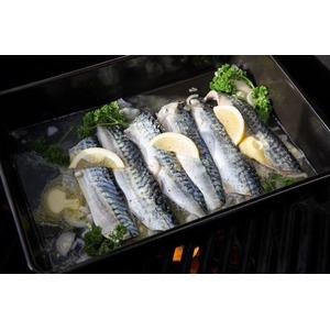 Obdélníkový odkapávací pekáček BGE - pečení ryb