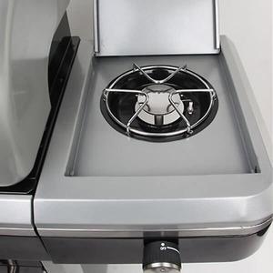 Plynový gril GrandHall SANTA FE s bočním hořákem - retro design s nádechem starých časů
