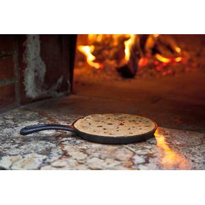 Litinová dezertní pánev Camp Chef MINI 18 cm (sada 2 ks) - sada litinových minipánví
