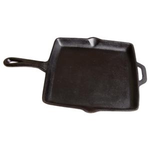 Litinová grilovací pánev Camp Chef 28x28 cm - praktická čtvercová pánev