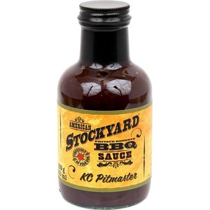 Grilovací omáčka Stockyard KC Pitmaster BBQ Sauce (350ml) - sladká omáčka na žebírka nebo hovězí