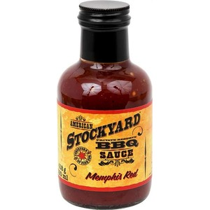 Grilovací omáčka Stockyard Memphis Red BBQ Sauce (350ml)
