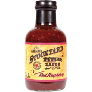 Grilovací omáčka Stockyard Red Raspberry BBQ Sauce (350ml)