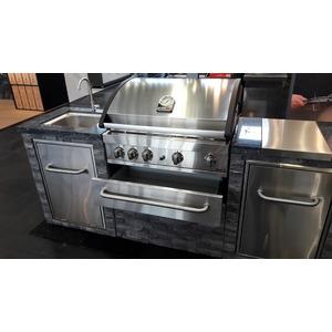 Venkovní grilovací kuchyně GrandHall STONE ISLAND OUTDOOR KITCHEN - luxusní grilovací centrum pro náročné milovníky grilování