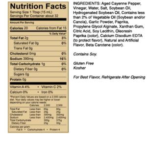 Grilovací omáčka Sweet Baby Ray´s Buffalo Wing Sauce (473 ml)