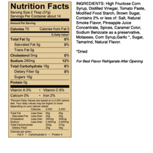 Grilovací omáčka Sweet Baby Ray´s Hickory & Brown Sugar Barbecue Sauce (510 g)