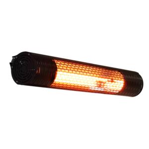 Elektrický karbonový zářič IQ-STAR M 2500 W - komfortní zářič s dálkovým ovládáním a vysokou odolností vůči povětrnostním vlivům