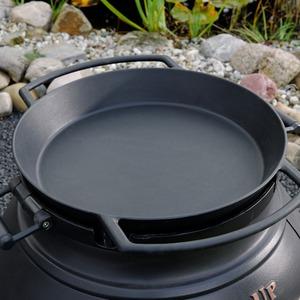 Litinový zahradní gril Leda TROLL 700 - litinová Paella pánev