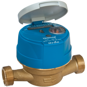 Bytový vodoměr UNIMAG TU4 DN 20 - modré provedení na studenou vodu (k dispozici aktuálně jen červené na teplou vodu)