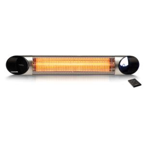 Elektrický karbonový zářič VEITO BLADE 2000 SILVER - elegantní zářič na dálkové ovládání