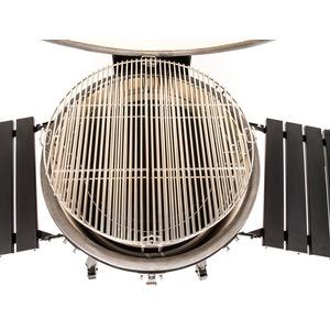 Keramický gril Kamado Joe CLASSIC JOE III - patentovaný systém DIVIDE & CONQUER ™ transformuje skromný grilovací rošt na nejsilnější nástroj vaření