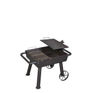Gril na dřevěné uhlí Camp Chef WAGON - praktické řešení grilu a ohniště