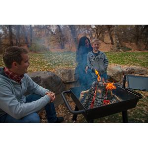 Gril na dřevěné uhlí Camp Chef WAGON - poslouží rovněž jako otevřené ohniště