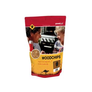 Dřevěné udící lupínky GrandHall bílý ořech - vhodné pro hovězí, vepřové, žebra, kotlety a drůbež