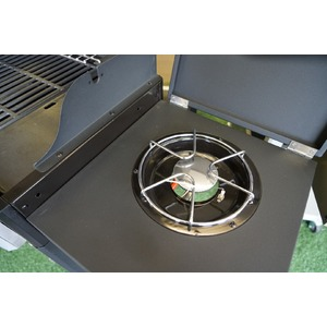Plynový gril GrandHall Xenon 3 s bočním hořákem - skvělý gril pro rodinné grilování
