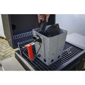 Gril na dřevěné uhlí GrandHall XENON - atraktivní gril na uhlí v designu plynového grilu