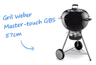 Weber One Touch Premium 57cm Gourmet gril